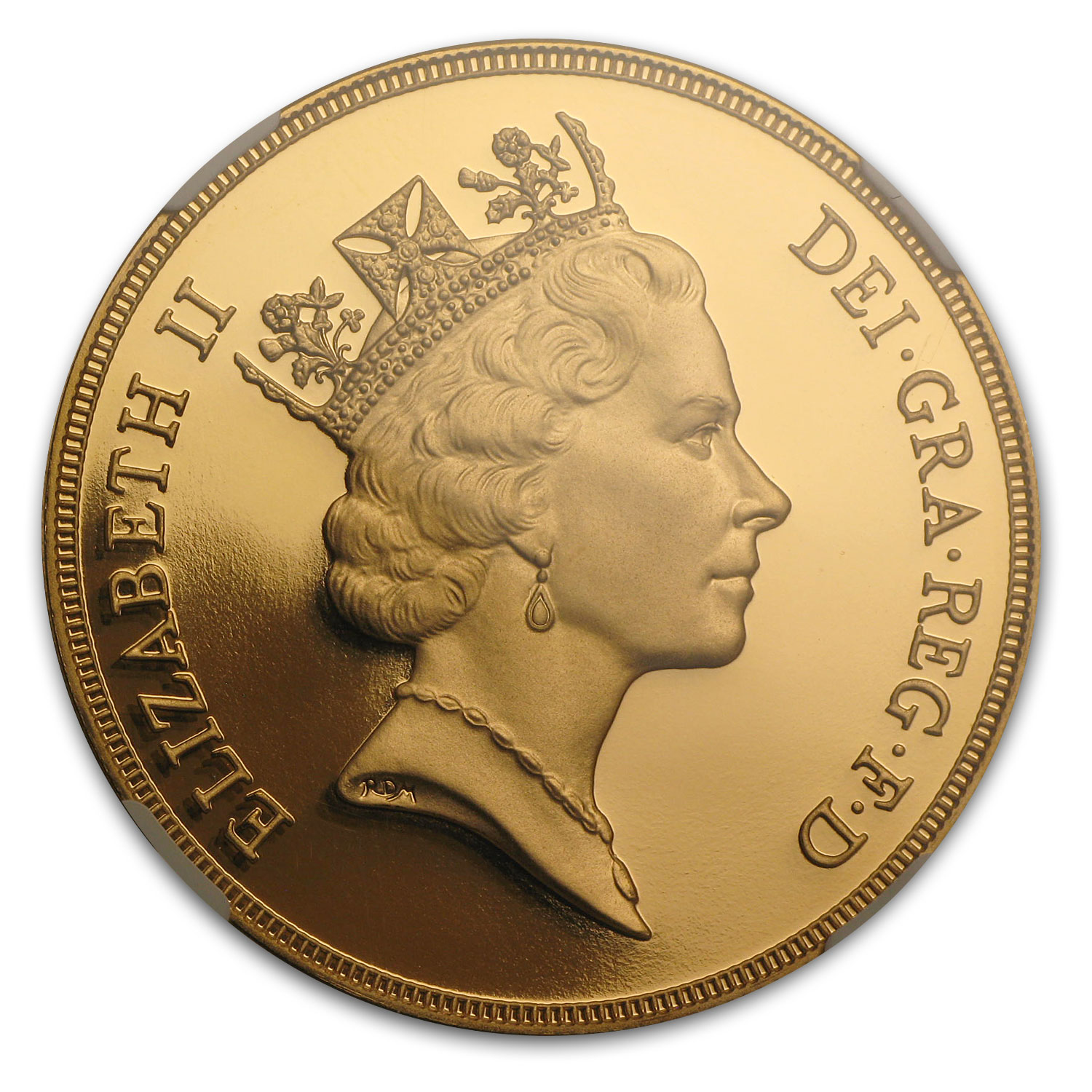 Great Britain 1991 5 Pounds Gold PF-69 UCAM NGC